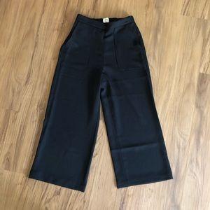 Aritzia Boissier Wide-leg Pants in Black